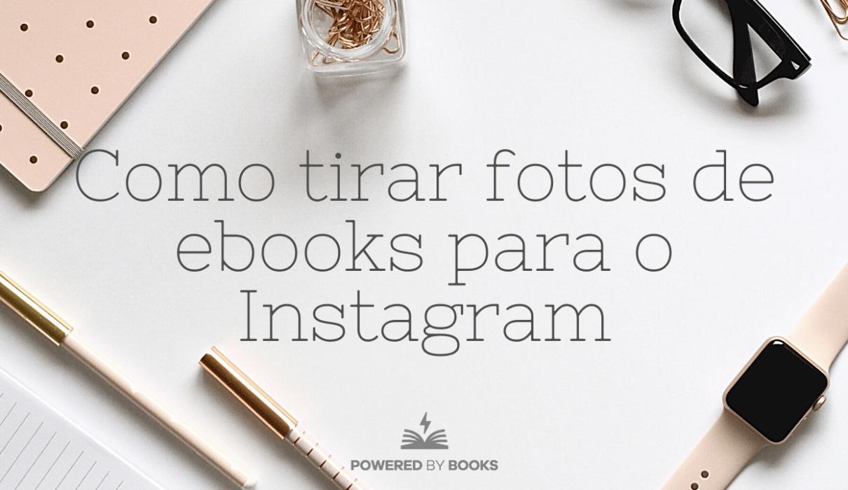 fotos de ebooks para o instagram