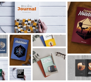 Powered by Books Planners and Journals