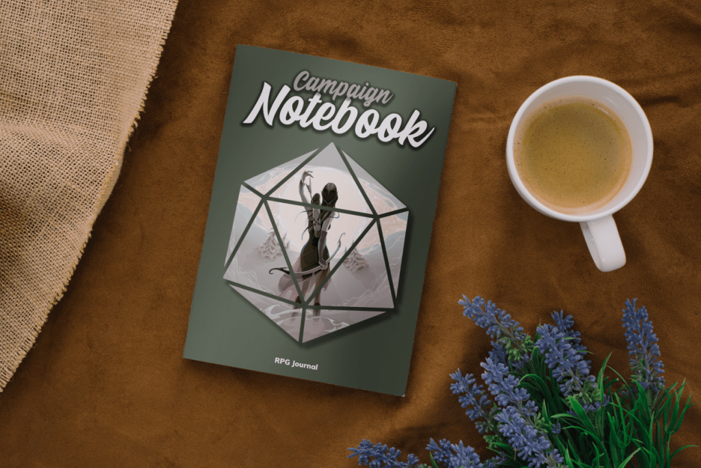 RPG journal elf edition