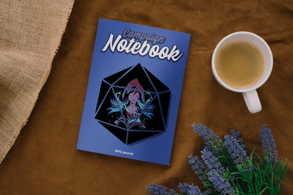 RPG journal sorceress edition
