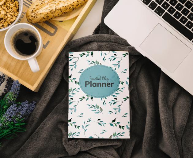 Blog planner floral edition