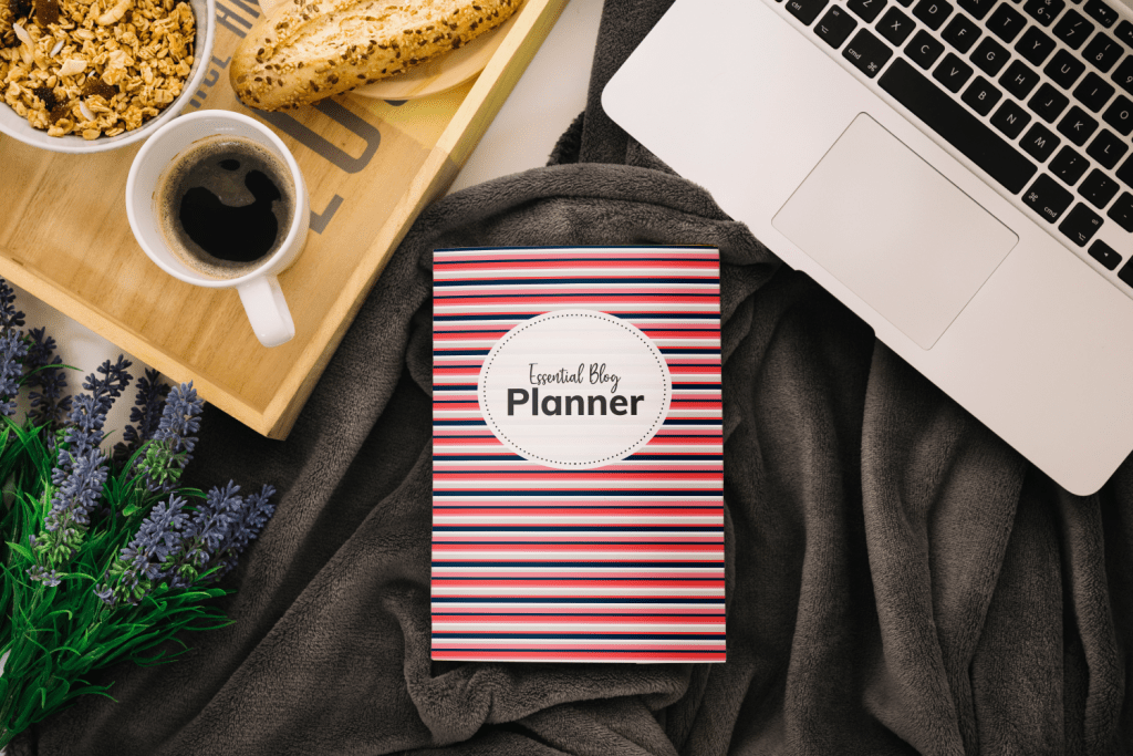Blog planner blue and pink edition
