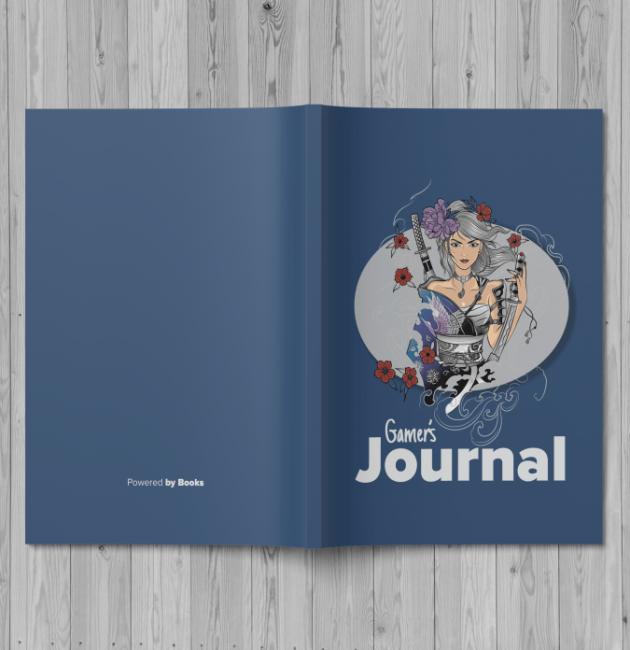 Gamer's Journal Female Warrior